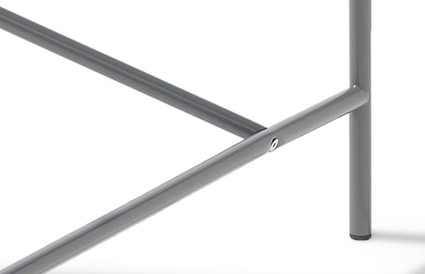Eiermann Tischgestell 1 - grau