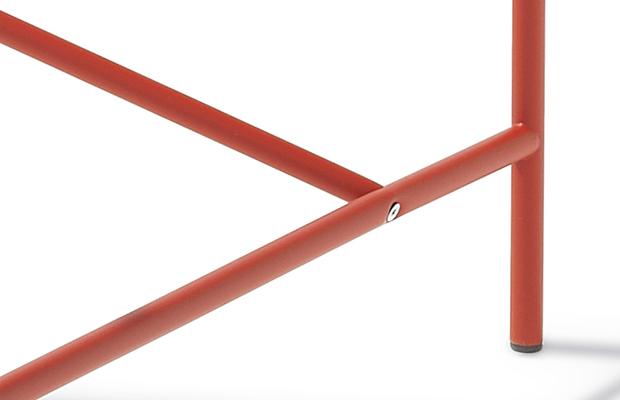 Eiermann Tischgestell 1 - rot