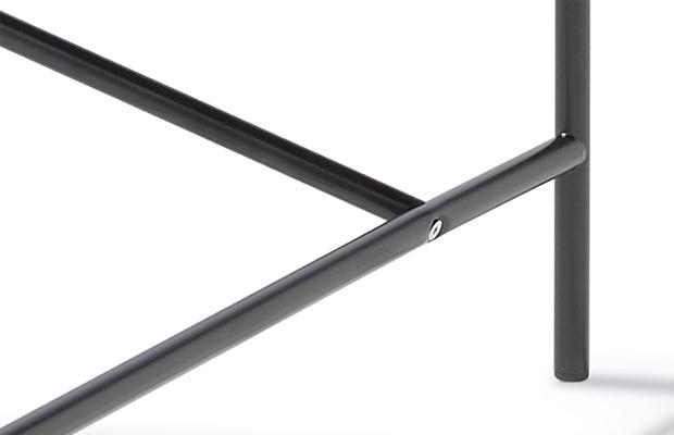 Eiermann Tischgestell 1 - schwarz