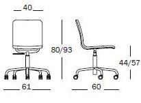 Bürostuhl skizze  Magis - Soho | Design Naoto Fukasawa | Bürostuhl | KINKU®