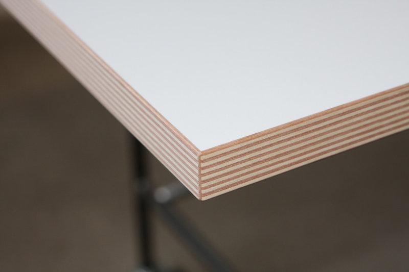 Tischplatte weiß  Egon Eiermann Tisch 2 | Tischplatten und Zubehör | Richard Lampert ...