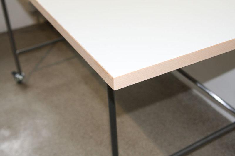 Melamin Tischplatte Eiermann Tisch Kinku