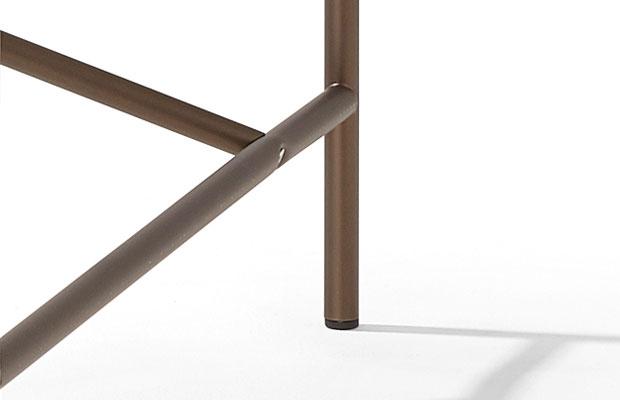 Eiermann Tischgestell 1 - bronze