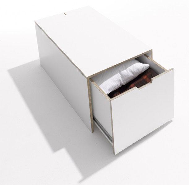 m ller m belwerst tten bettkasten 16 zur stapelliege. Black Bedroom Furniture Sets. Home Design Ideas