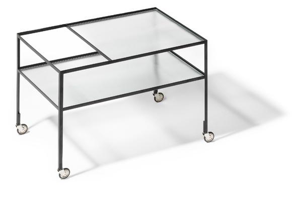 richard lampert herbert hirche barwagen kinku. Black Bedroom Furniture Sets. Home Design Ideas