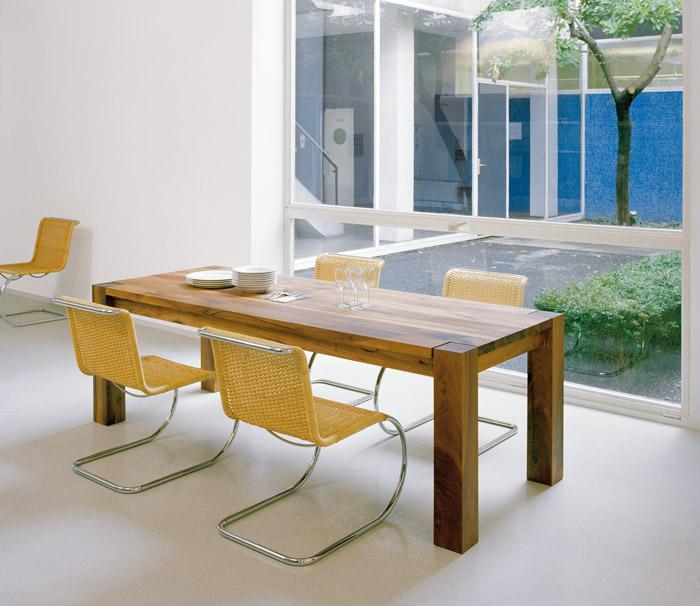 e15 bigfoot massivholz esstisch philipp mainzer ab 3861 kinku. Black Bedroom Furniture Sets. Home Design Ideas
