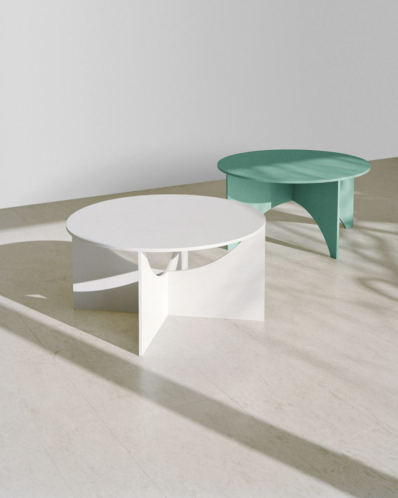 e15  Charlotte  Design Ferdinand Kramer  Couchtisch