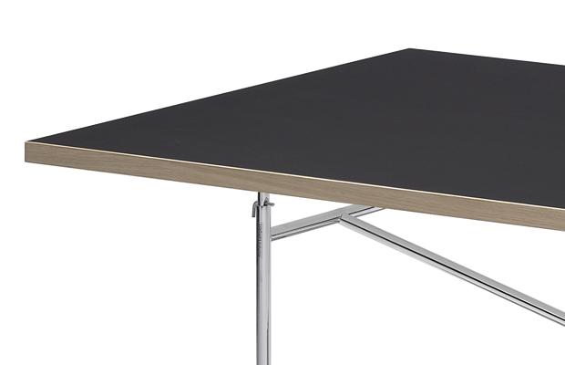 Linoleum tischplatte eiermann tisch kinku for Designer tischplatten