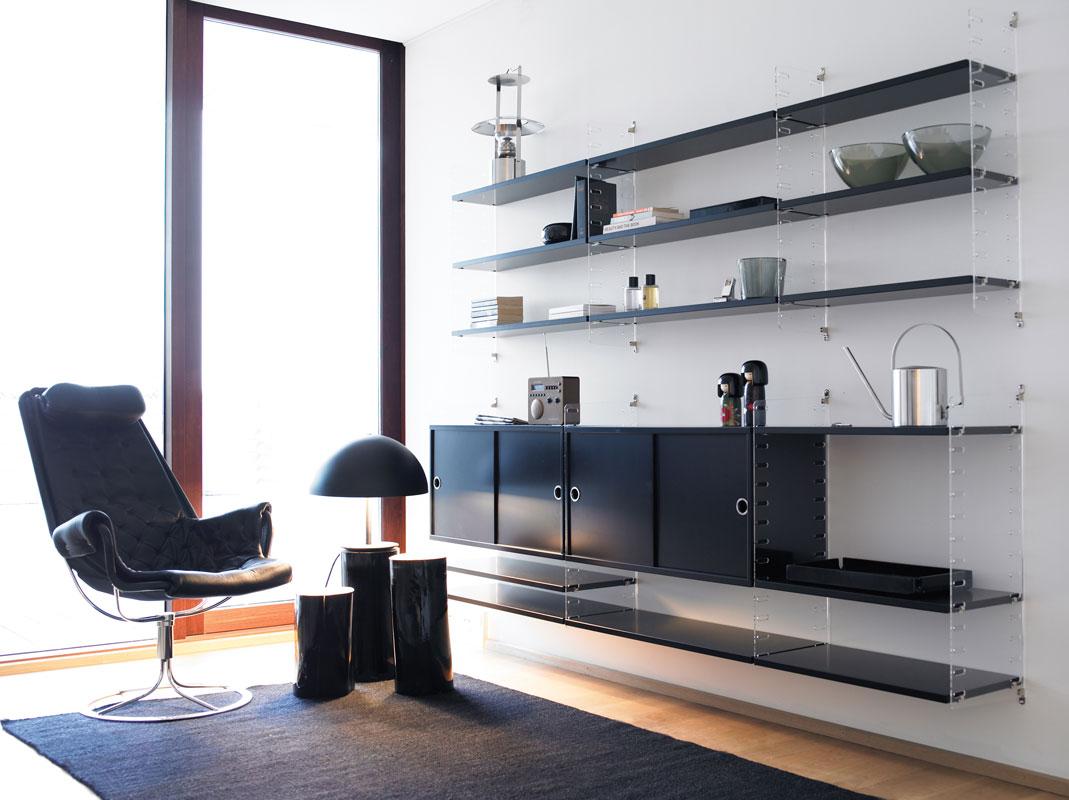 string plex regalsystem nisse string kinku. Black Bedroom Furniture Sets. Home Design Ideas