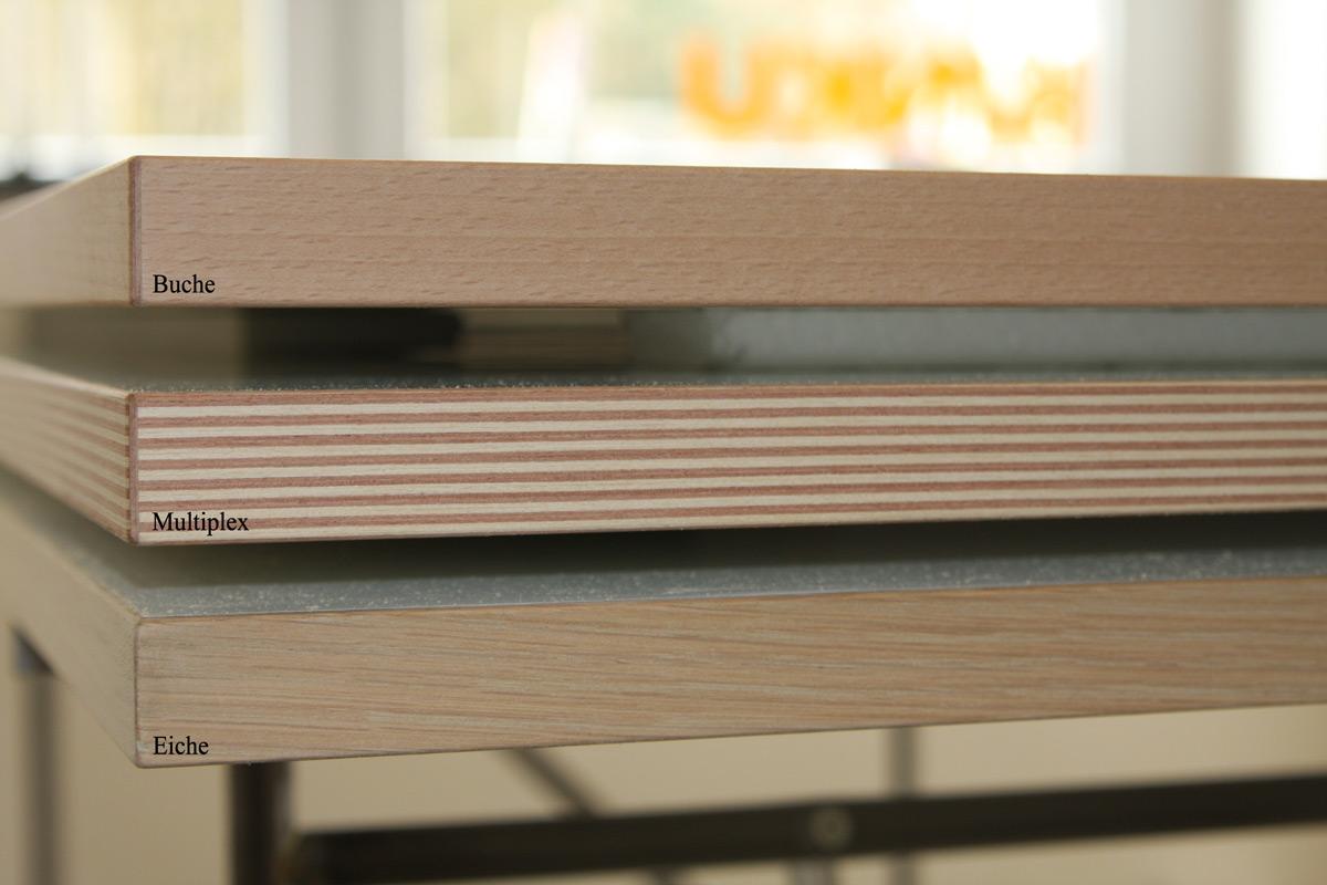 Melamin Tischplatte | Eiermann Tisch | KINKU®